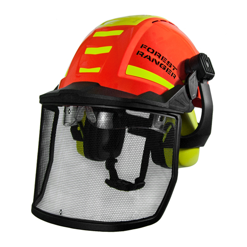 Rockman Forest Ranger Safety Helmet Kit - NRR 24 dB