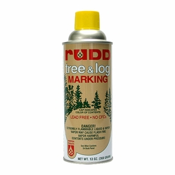 Rudd Yellow Tree & Log Marking Paint - Per Can