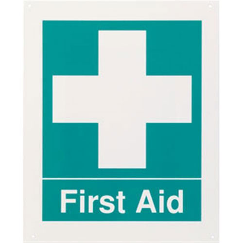 """Safety Sign - """"First Aid"""""""