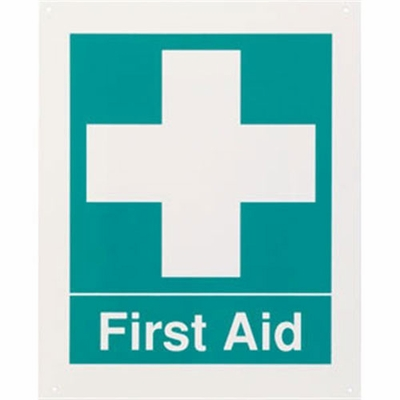 "Safety Sign - ""First Aid"""