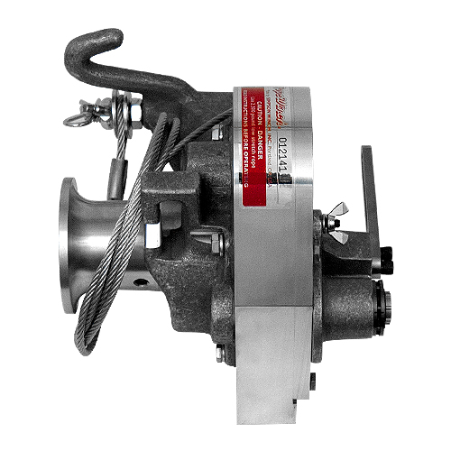 Simpson Chainsaw Powered Capstan Winch 2500 Lbs Max Pull