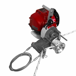 Simpson Gas Powered Capstan Winch - 2000 lbs Max Pull