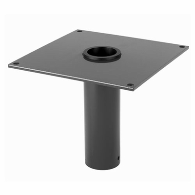 Thern Flush Mount Davit Crane Base - Galvanized Finish