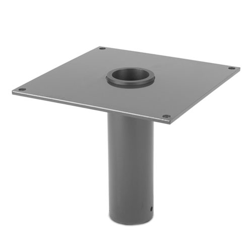 Thern Flush Mount Davit Crane Base - Stainless Steel Finish - #5BF20S