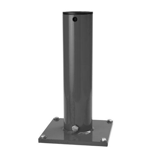 Thern Pedestal Davit Crane Base - Galvanized Finish - #5BP5G