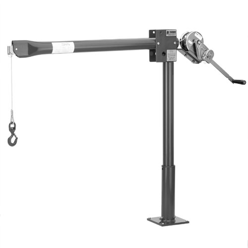 Thern Portable Davit Crane - First Mate Series - 500 lbs WLL - #5122M1
