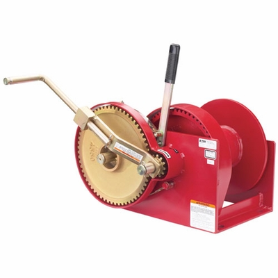 Thern Spur Gear Hand Winch - 10000 lbs Pulling Capacity