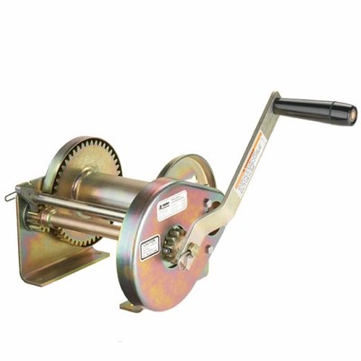 Thern Spur Gear Hand Winch - 2000 lbs Pulling Capacity