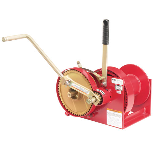 Thern Spur Gear Hand Winch - 4000 lbs Pulling Capacity - #M452