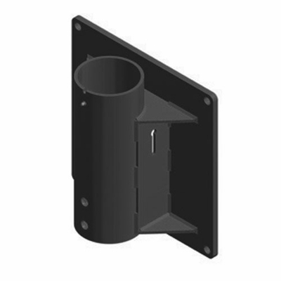 Thern Wall Mount Davit Crane Base - Powder Coated Finish