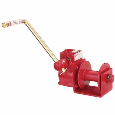 Thern Worm Gear Hand Winch - 1000 lbs Pulling Capacity