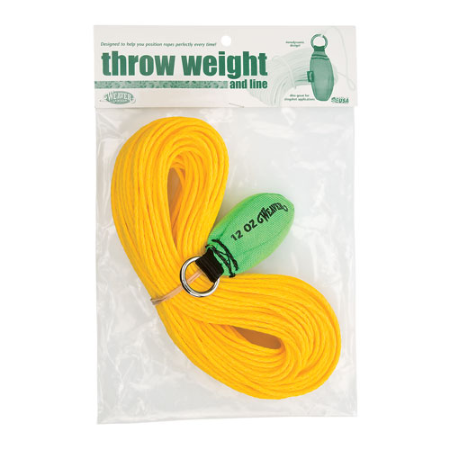 Weaver 12 oz Throw Weight Kit - Neon Green - #08-98327-NG