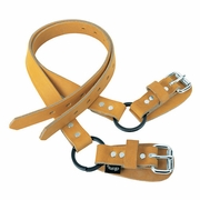 Weaver Leather Lower Split Ring Spur Straps