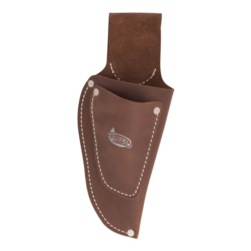 Weaver Pistol-Type Leather Pruner Pouch w/ Knife Pouch - #08-97202-9P