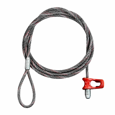 "3/4"" x 15 ft Logging Choker - Eye & Nub Cat-Style - 41000 lbs Breaking Strength"