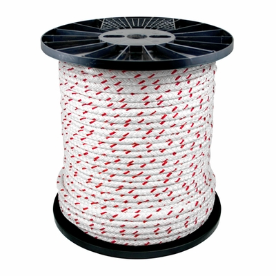 "Yale Cordage 1/2"" x 600 ft PolyPlus Braid Rope - 8500 lbs Breaking Strength"