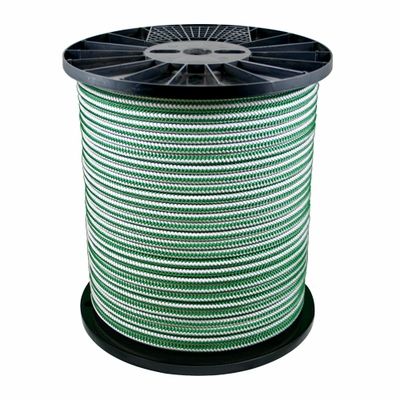 "Yale Cordage 1/2"" x 600 ft XTC Spearmint Arborist Rope - 6200 lbs Breaking Strength"