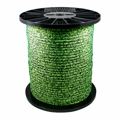 "Yale Cordage 1/2"" (12 mm) x 600 ft XTC Green Imori Arborist Rope - 6200 lbs Breaking Strength"