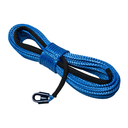 """Yale Cordage 3/8"""" x 100 ft Ultrex UHMWPE Synthetic Winch Line - 20000 lbs Breaking Strength"""