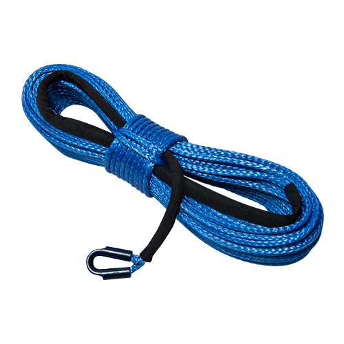 """Yale Cordage 5/8"""" x 50 ft Ultrex UHMWPE Synthetic Winch Line - 53000 lbs Breaking Strength"""