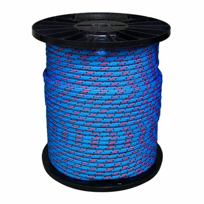 "Yale Cordage 7/16"" (11.7 mm) x 600 ft BlueMoon Arborist Rope - 6500 lbs Breaking Strength"
