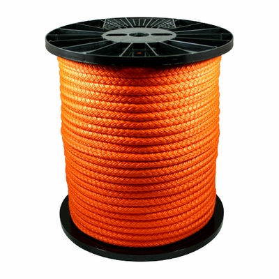 "Yale Cordage 7/16"" x 600 ft Yalex Rigging Rope - 9000 lbs Breaking Strength"