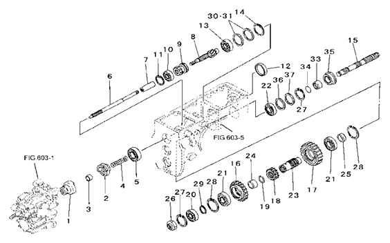 Transmission Parts For 2615 Mahindra Tractor