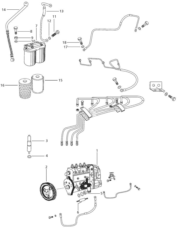 mahindra 4500 engine diagram