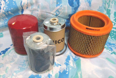 DISCOUNT SERVICE FILTER PACK FOR  E-40 MAHINDRA TRACTOR (006017310B1, 001082448R92, 001081778R93, 005555890R1)