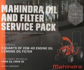 ENGINE OIL & FILTER CHANGE KIT FOR e-MAX 25 MAHINDRA TRACTOR (L1004000023)