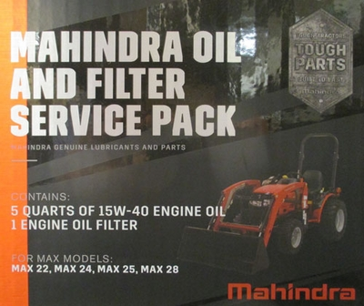 ENGINE OIL & FILTER CHANGE KIT FOR MAX 26 MAHINDRA TRACTOR