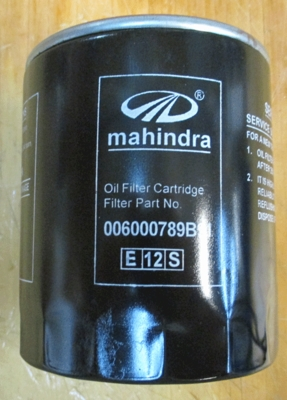ENGINE OIL FILTER FOR 1533 MAHINDRA TRACTOR (006000789B91)