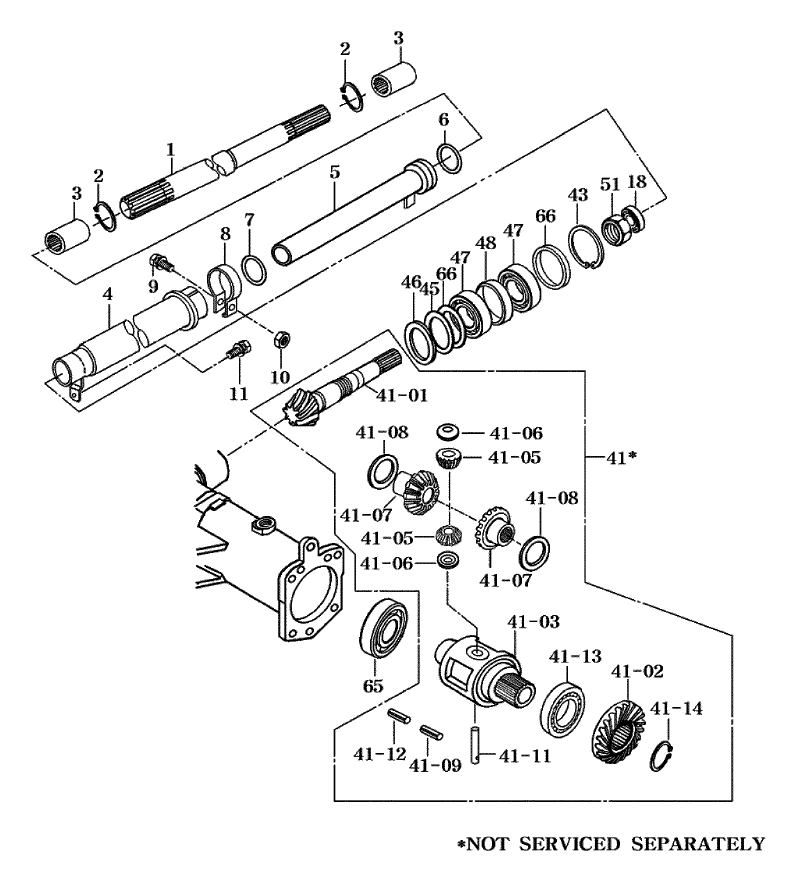 Front Axle Parts For 4510 Mahindra Tractor
