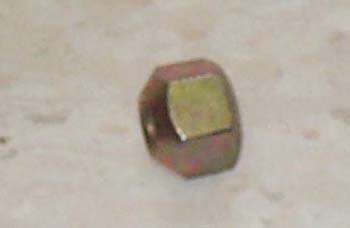 FRONT LUG NUT FOR 3505 MAHINDRA TRACTOR (003047574R1)
