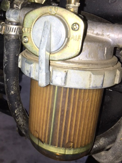 Tractor Transmission Filters : Filters for cab with hydrostatic transmission