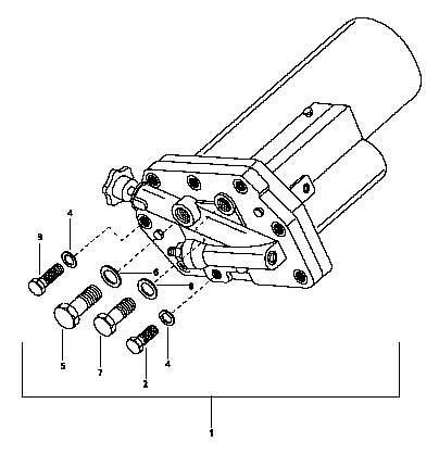 HYDRAULIC CONTROL VALVE ASSEMBLY FOR 5530 MAHINDRA TRACTOR