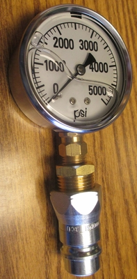 HYDRAULIC PRESSURE GAUGE FOR CHECKING PRESSURE ON MAHINDRA TRACTORS