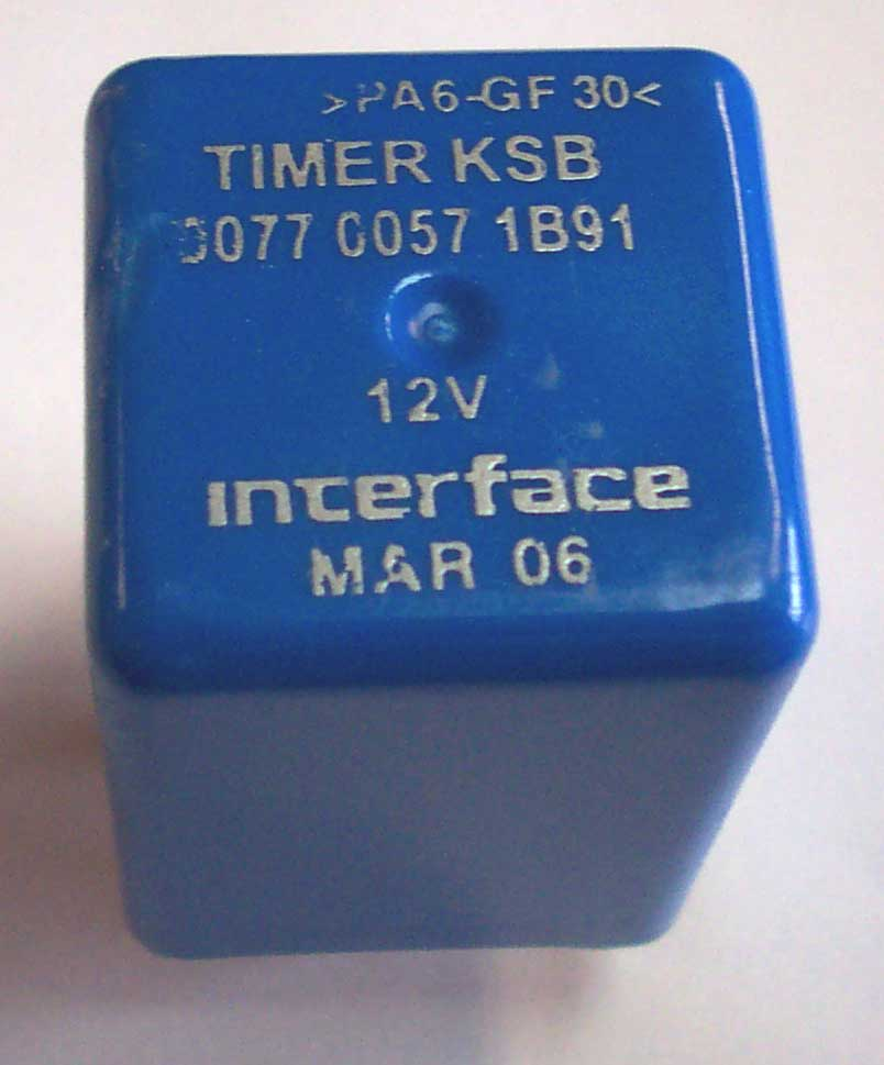 KSB FUEL TIMER FOR 6500 MAHINDRA TRACTOR (007700571B91)