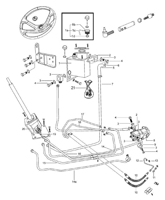 Mahindra 4x4 Front Axle : Steering front axle parts for wheel drive