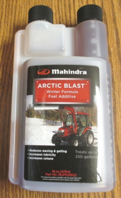MAHINDRA ARCTIC BLAST FUEL ADDITIVE FOR ANY DIESEL ENGINE