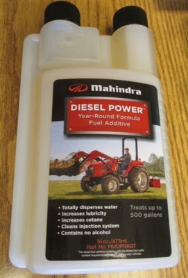MAHINDRA DIESEL POWER FUEL ADDITIVE FOR ANY DIESEL ENGINE (MUDP116QT)