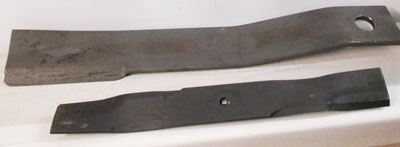 CUTTER AND MOWER BLADES FOR MAHINDRA UNITS