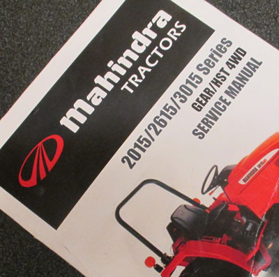 MAHINDRA TRACTOR MANUALS