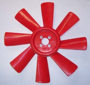 RADIATOR FAN BLADE FOR 475 MAHINDRA TRACTOR (005550713R91)