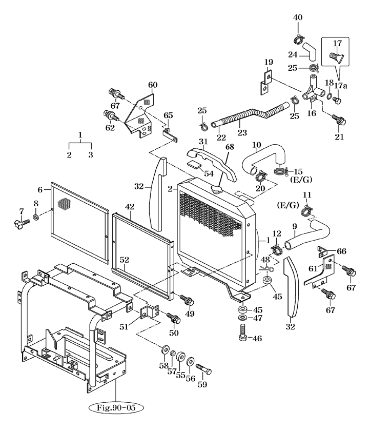 COOLING SYSTEM PARTS FOR 2810 MAHINDRA TRACTOR on mahindra tractor steering diagram, mahindra tractor ignition diagram, mahindra tractor wiring schematic,
