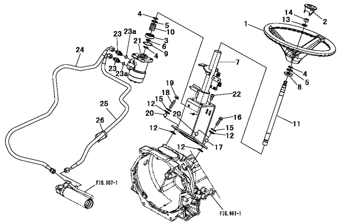 Steering System Parts For Max 22 Mahindra Tractor