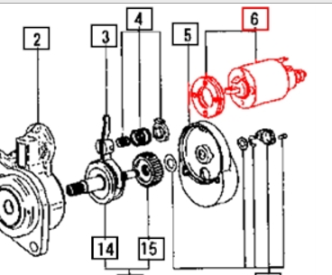 SOLENOID FOR STARTER FOR MAX 22 MAHINDRA TRACTOR