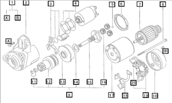 electrical system parts for 3616 mahindra tractor