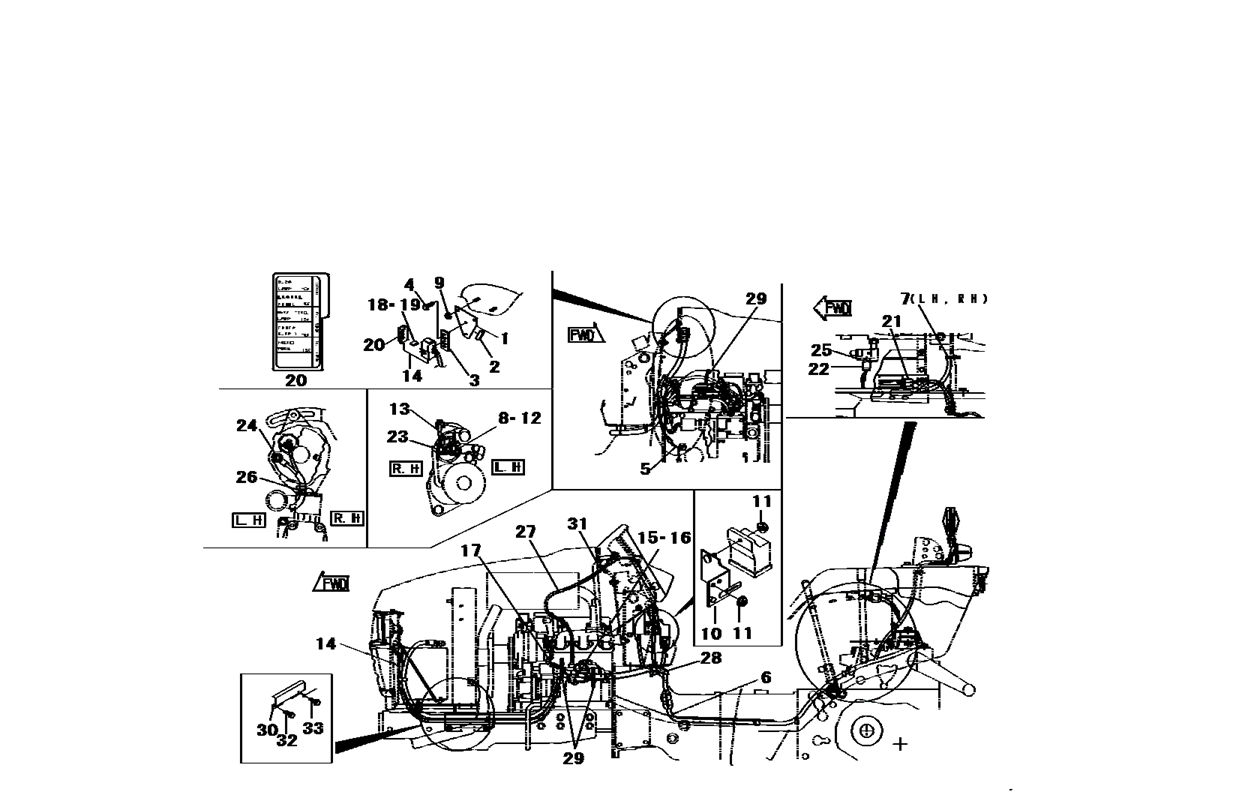 tractor starter wiring diagram for switch on mahindra tractor starter wiring diagram mahindra 3510 tractor wiring diagram | indexnewspaper.com #8