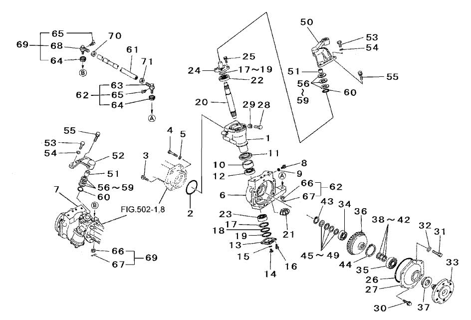 Steering Parts For 2615 Mahindra Tractor